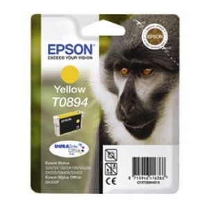 Cartridge Epson T0894 yellow, SX115/SX215