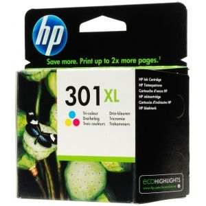 Cartridge HP No.301XL CH564EE tri-col, DJ 1050/2050, 330str.