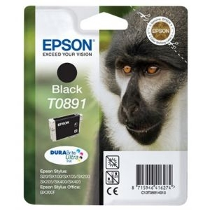 Cartridge Epson T0891 black, SX115/SX215