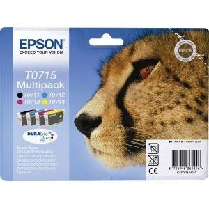 Cartridge Epson T0715 multipack, D/DX/BX/SX Series