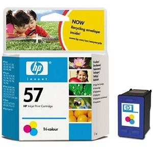 Cartridge HP No.57 C6657AE tri-color, 5550/5150/2210/1210/4110/1350/5650/5850