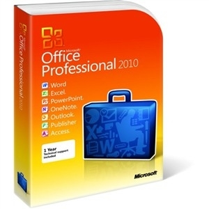 Office 2010 Professional EN, PC Attach KE PKC /269-15341