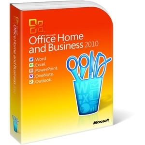 Office 2010 Home and Business EN, PC Attach PKC(T5D-00835)