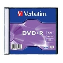 DVD-R  4,7 GB 16x Slim Box
