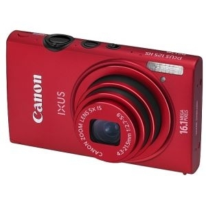 'Digitalni foto-aparat Canon IXUS 500 HS red