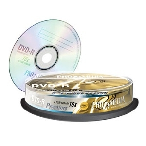 DVD-R 4.7GB 16 Premium  - CD DVD