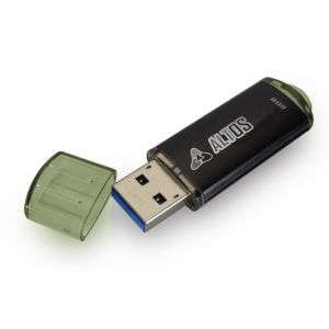 USB Flash Disk 4GB Altos Element black, USB2.0
