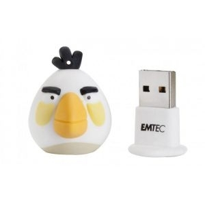 USB flash Disk EMTEC A103 4GB Angry birds Bela Ptica