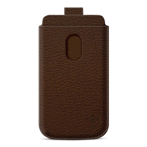 Profesiona leather case S3 - Braon