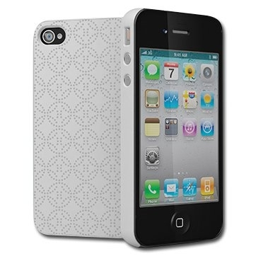 CYGNETT Imperial Modern protection with a vintage twist for iPhone 4 & iPhone 4S, White, Retail for iPhone 4, White, Retail