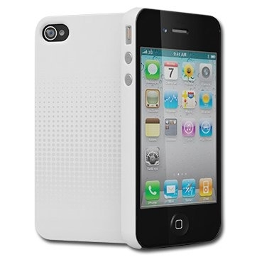 CYGNETT Transition Subtle soft-touch protection for iPhone 4 & iPhone 4S, White, Retail for iPhone 4, White, Retail