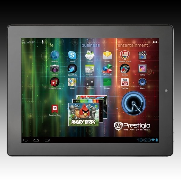 PRESTIGIO MultiPad 5097 (9.7' IPS,1024x768,8GB,Android 4.0,USB,HDMI,Wi-Fi) Black Retail