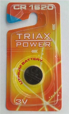 BAT TRIAXPOWER litijum CR1620
