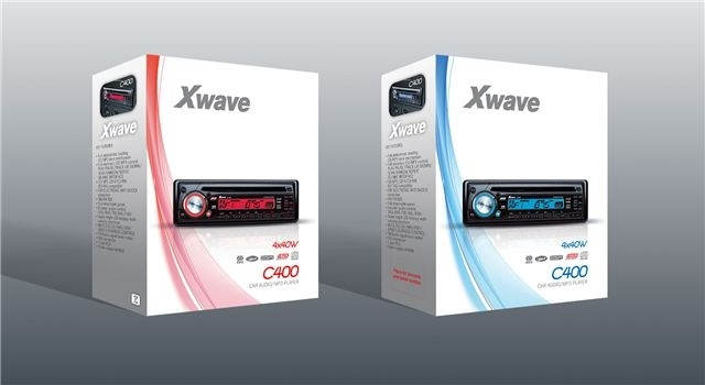 Auto player Xwave C400 Pro Red