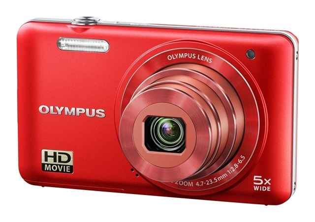 DF OLYMP D-745 red + torbica + SD 4GB