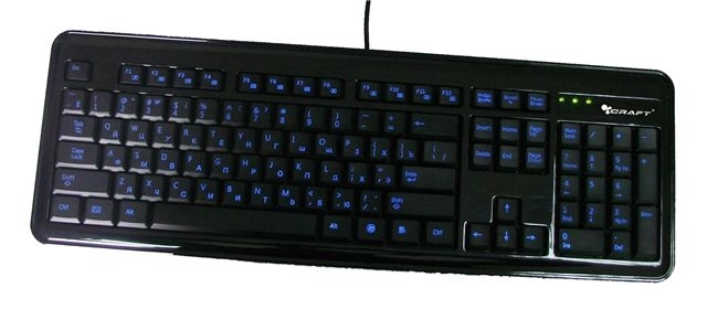 Tastatura Craft CK-3308F USB-Illuminator