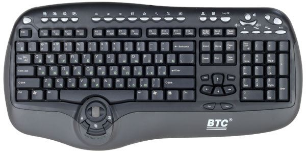 Tastatura BTC 8190A Multimedia black