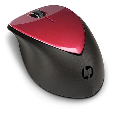 NOT DOD HP Mouse X4000, Wireless Rby Red Laser, H1D33AA