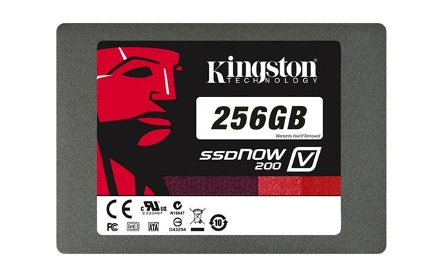 SSD disk Kingston 256GB, SSDNow V200 SATA 3  2.5