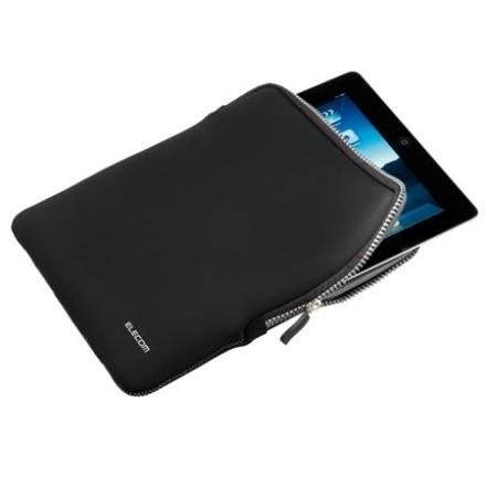 ELECOM torbica za  iPad2/Tablet Neopren Black/Grey