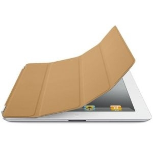 Apple iPad Smart Cover - Leather - Tan mc948zm/a