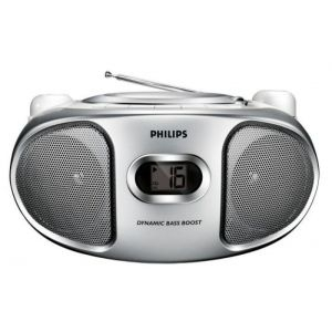 Muzički CD FM Player Philips AZ102S/12, 2x1W CD FM Stereo