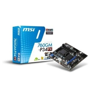 MB AM3+ 760G MSI 760GM-P34 (FX) VGA, PCIe/DDR3/SATA2/GLAN/7.1