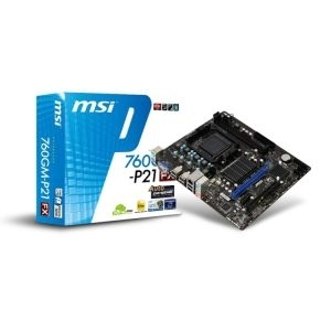 MB AM3+ 760G MSI 760GM-P21 (FX) VGA, PCIe/DDR3/SATA2/LAN/7.1