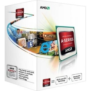 APU FM2 AMD A4-5300, 3.4GHz/ Radeon™ HD 7480D/1MB