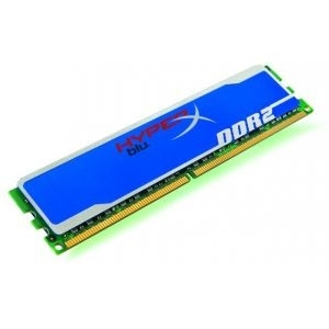 Memorija DIMM DDR2 1GB 800MHz Kingston CL5, KHX6400D2B1/1G