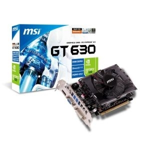 'VGA GeForce GT630 MSI, 2GB/DDR3/HDMI/DVI/VGA/128bit/N630GT-MD2GD3