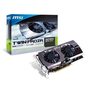 'VGA GeForce GTX660 MSI TwinFrozr III 2GB, DDR5/HDMI/DVI/DP/192bit/N660 TF 2GD5/