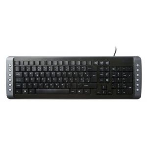 Tastatura USB MS Industrial Simple, black