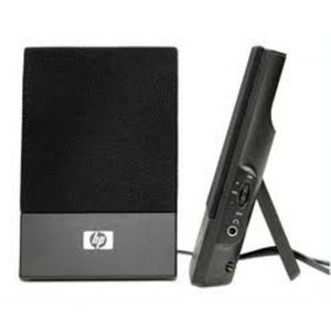 HP Desktop Speaker, Thin USB Powered, KK912AA