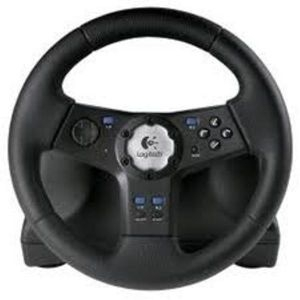 Volan Logitech Rally Vibration Feedback Wheel PS2-