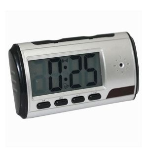 Mini DVR sa kamerom DVR-CLOCK 1.3, 1.3MP/12h snimanja/SD card do 32GB