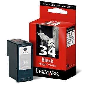 Cartr. Lexmark No.34XL 18C0034E,black  Z815/845/1320/1420/X2550/3330/3550/5075
