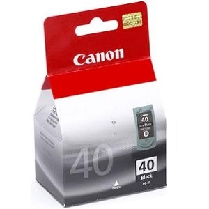 Cartridge Canon PG-40 black, MP220/MP210/MX310/MX300/iP2500/iP2200/iP1800/iP1900