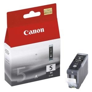 Cartridge Canon PGI-5BK black, IP4200/IP5200/iP5300/IP6600D/MP500/MP800/iP4300