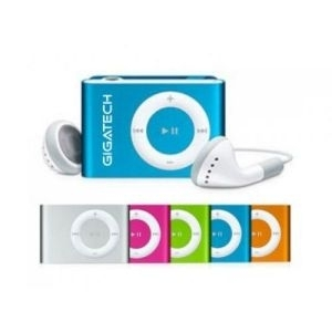 Outlet-MP3 Player Gigatech GMP-03 Silver, Card reader -M