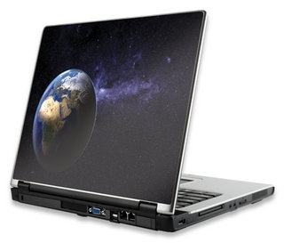 Notebook Skin, hard version - Earth - Folije za laptop