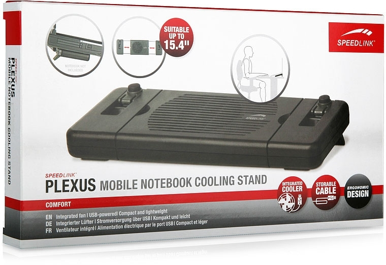 PLEXUS Mobile Notebook stalak sa ventilatorom - Postolja za laptop