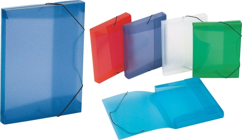 COOL BOX A5 Propyglass - Fascikle PP/PVC
