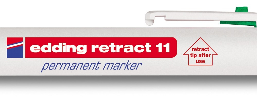 Permanent marker E-11 Retract - Permanent markeri