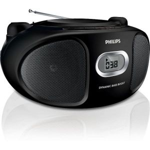 Muzički CD FM Player Philips AZ105B/12, 2x1W CD FM Stereo - Mini linije