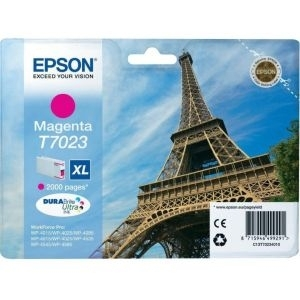 Cartridge Epson T7023 magenta XL, WorkForce Pro WP-4000/4500 Series