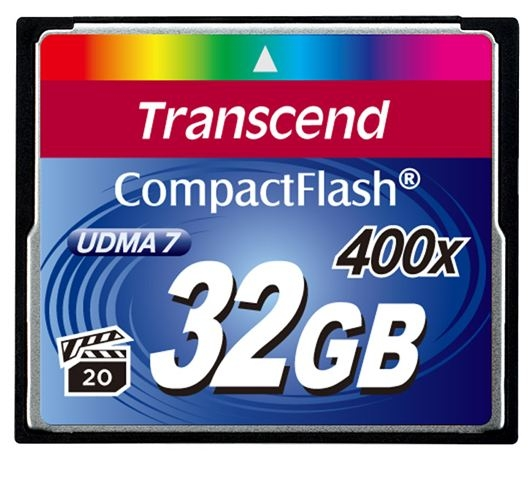 Memorijska kartica Compact Flash Transcend 32GB 400X - Compact Flash Card