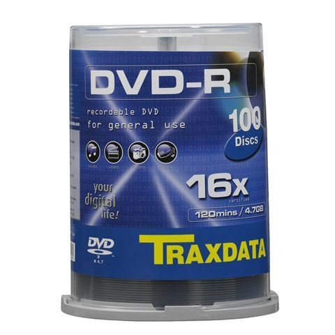 Traxdata DVD-R - CD DVD