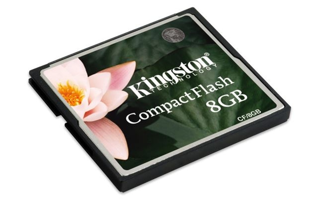 Memorijska kartica Compact Flash Kingston 8GB 133x - Compact Flash Card
