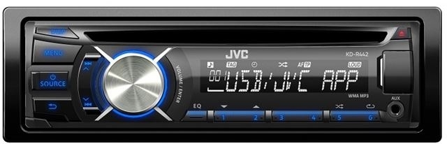 AUTO RADIO JVC KD-R442EY - radio/CD,MP3/USB - Auto radio CD/MP3